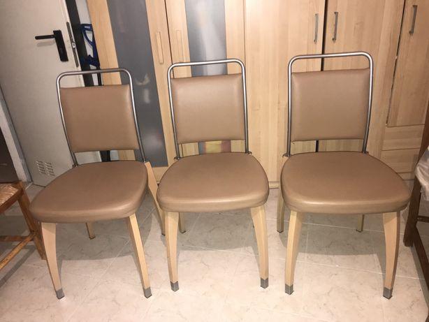 Vendo cadeiras de sala em pele