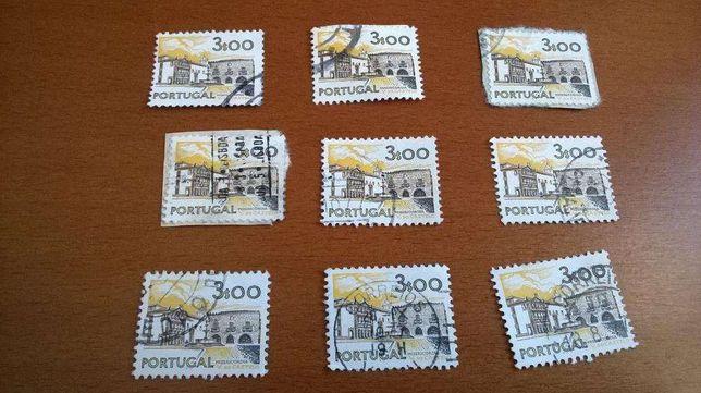 8 selos Misericórdia Viana do Castelo de 3$
