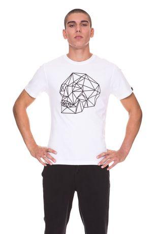 футболка мужская hydrogen scull 3d tee