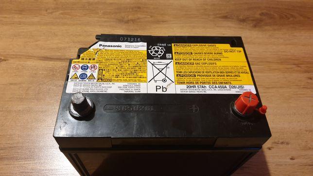 Oryginalny Akumulator 12V Lexus 450h 400h Panasonic S65D26L OKAZJA