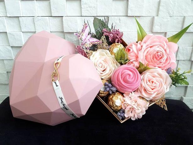 Pudełko prezentowe serce/oświadczyny/dzień kobiet/rocznica/walentynki