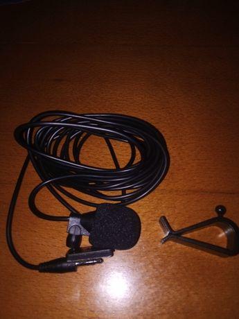 Microfone car auto 3,5mm