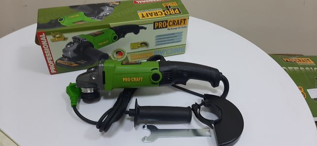 Болгарка Procraft PW1200E регулировка оборотов