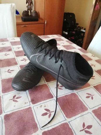 Chuteira Nike Mercurial Superfly AG/FG - Preta - ( tamanho 45)