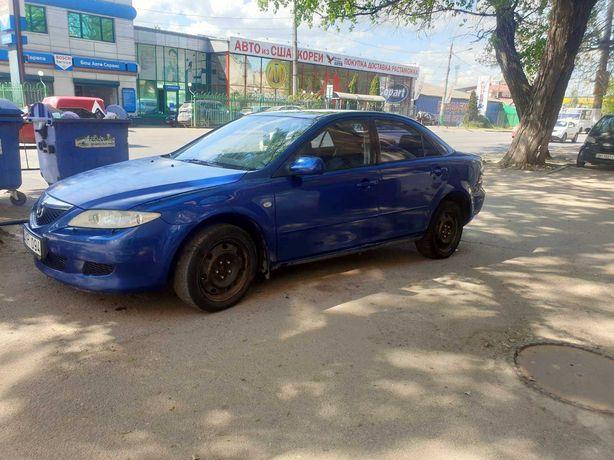 Mazda 6 механика, 2.3 газ/бензин 2003 год