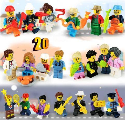 Nowe figurki Różne Zawody w pełni kompatybilne z klockami Lego