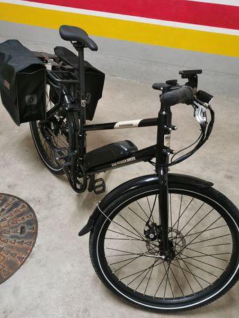 Bicicleta holandesa electrica Nova ( 98kms)( aceito retomas) Tamanho (