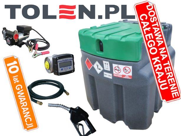 JFC Mobilny zbiornik na paliwo ON OLEJ 950L PROFESSIONAL