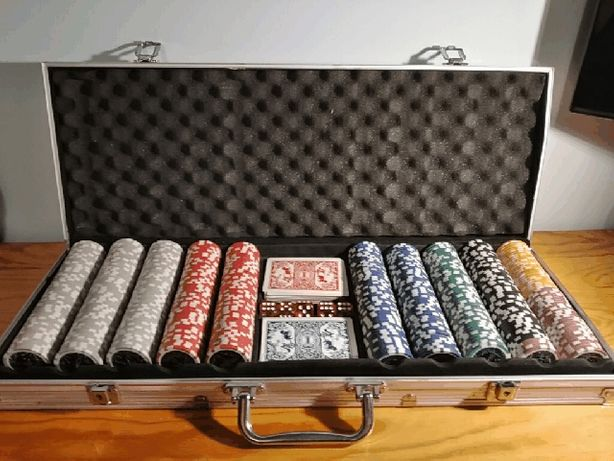 Poker duży 500 żetonów!
