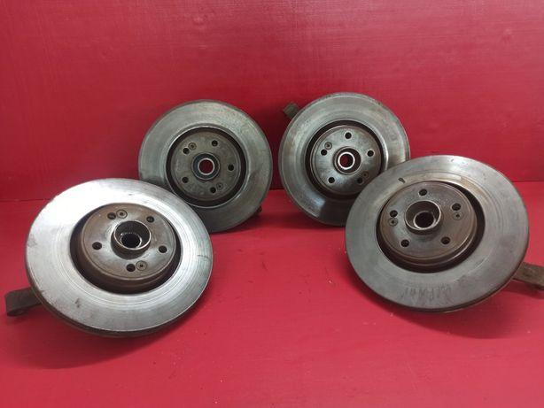 Тормозний диск ступица передня  поворотный кулак Рено Лагуна 2