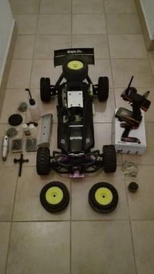 Carro Hpi Baja Motor de 26cc a gasolina de Mistura escala 1/5