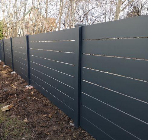 Ogrodzenie Aluminiowe, Bramy, Balustrady, Furtki