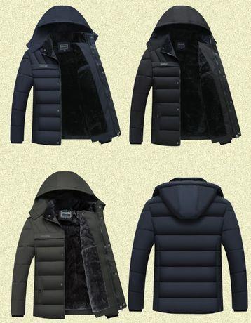Экстремально тёплая мужская зимняя куртка. 3 цвета. Размеры 46-54