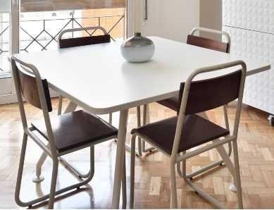 cadeiras de estilo industrial vintage