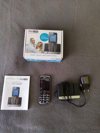 Telefon Maxcom Comfort MM720BB. Używany, stan BDB. Bez simlocka.