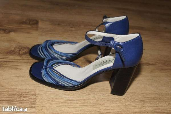 NOWE LARA MANNI eleganckie buty rozmiar 37,5 skórzane/naturalna skóra