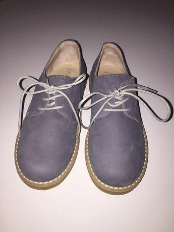 Туфли из набука на мальчика Италия