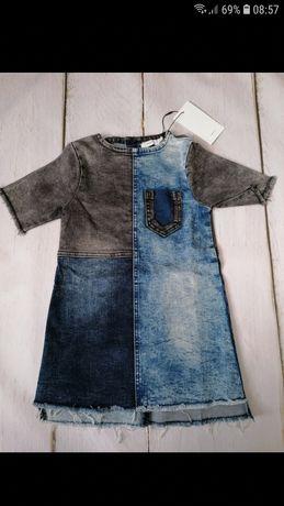 Jeansowe sukienka Name it