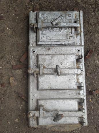 Drzwiczki do pieca kaflowego , podkowy