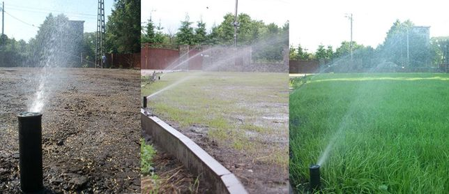 Projekty ogrodów systemy automatycznego nawadniania inspektor nadzoru
