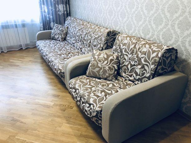 Продам раскладной диван + раскладное кресло Meblissimo