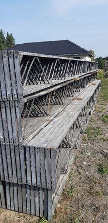 Kratownica dachowa konstrukcja stalowa hali wiązar wiaty obory garażu