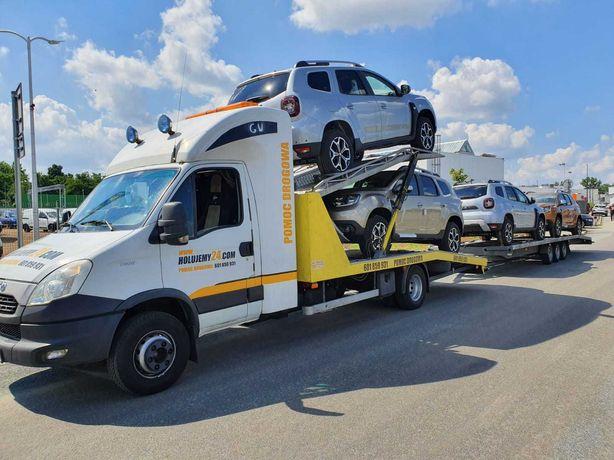 Pomoc drogowa do transportu samochodów