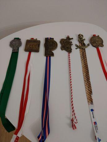 medale z biegów (ładne!)