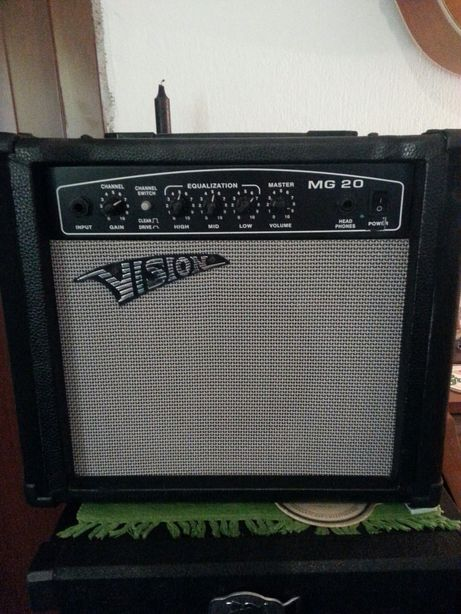 Wzmacniacz gitarowy Vision 40 W MG 20