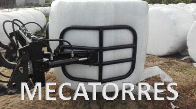 Pinça porta rolos nova para carregador frontal (fabrico próprio)