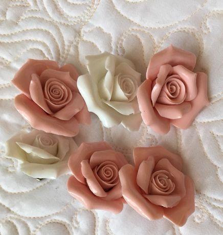 Керамический цветок декор для интерьера