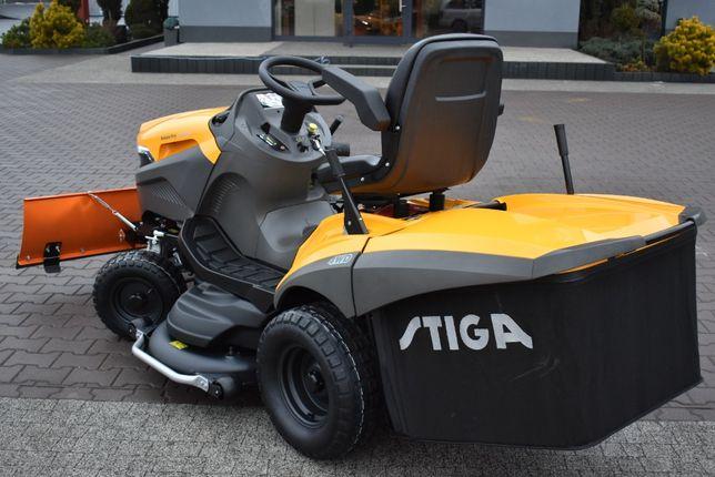 Pług śnieżny do traktorów kosiarek Stiga Castelgarden Viking Honda