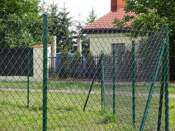 siatka ogrodzeniowa zielona powleczenie PCV ROLKA 10mb