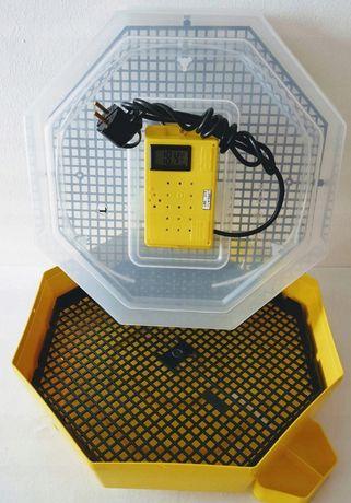 Ręczny INKUBATOR do wylęgu 60 jaj iBator HOME z wyświetlaczem LCD