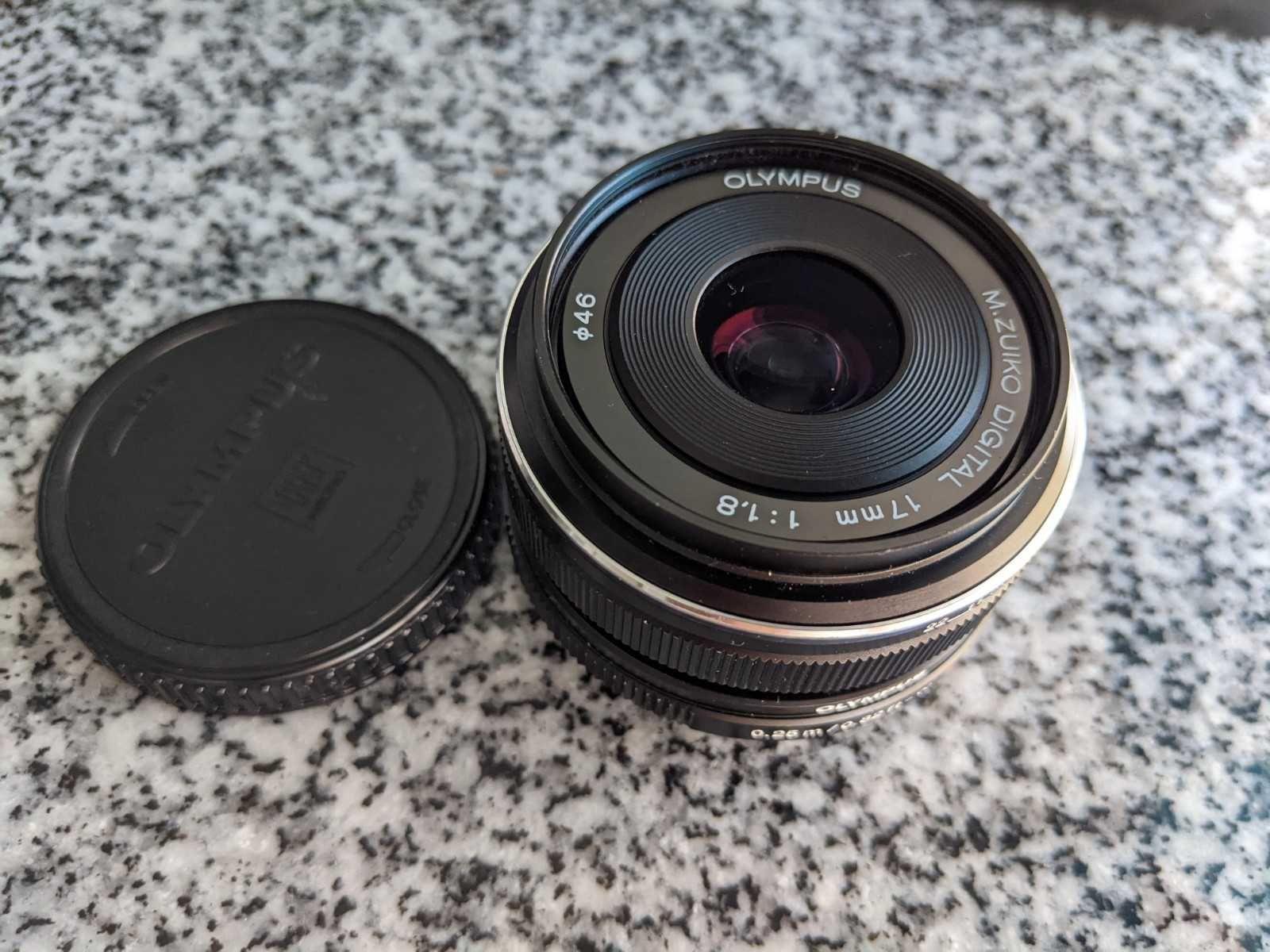 Olympus M.Zuiko 17mm F1.8 (c/nova)