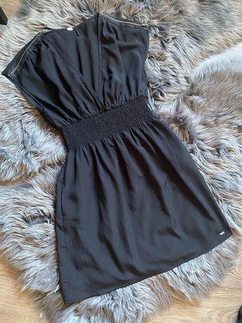 Sukienka czarna Guess