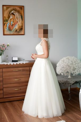 Suknia Ślubna IVORY Alana _ 40