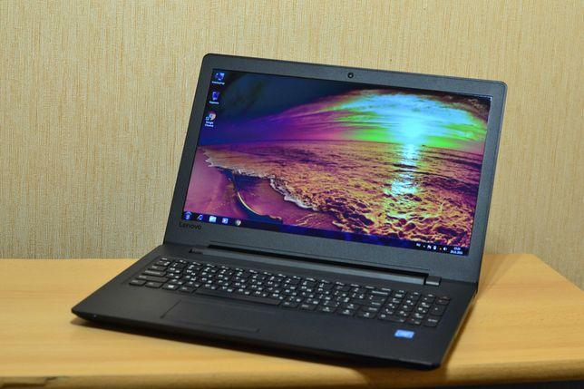 Современный тонкий ноутбук Lenovo Intel Celeron N3060 Батарея 3 часа.