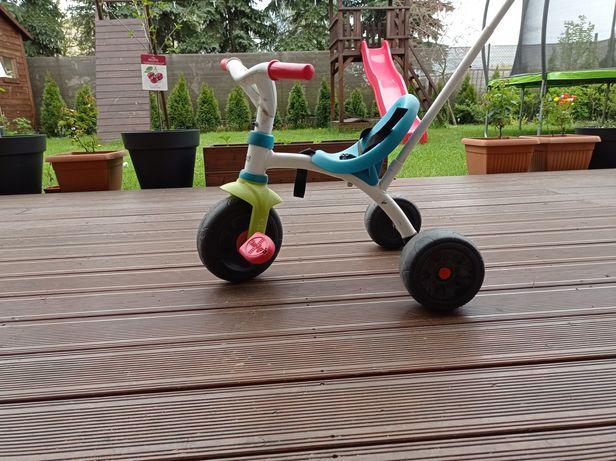 Rowerek jeździk 3-kołowy do nauki pedałowania Smoby be move dobry stan