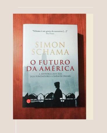 """Livro """"O Futuro da América"""", de Simon Schama"""