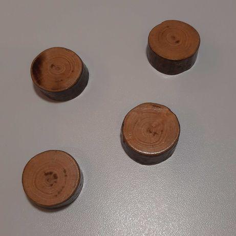 Magnesy drewniane neodymowe na ścianę lodówkę farbę magnetyczną
