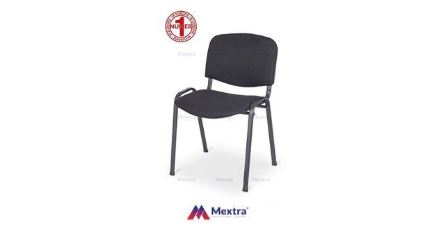 Krzesło krzesła konferencyjne hotelowe bankietowe biurowe ISO czarne