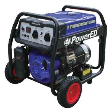 Gerador 10 KVA, 36Ah Gasolina, Arranque Eletrico Mono e Trifásico