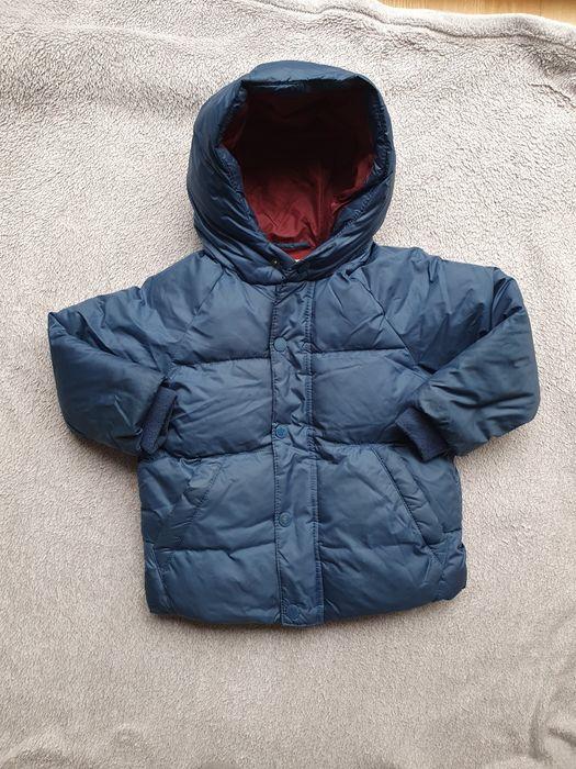 Kurtka zimowa Zara 98 niebieska Poznań - image 1