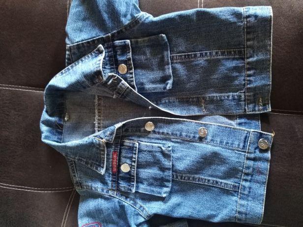 Джинсовая одежда сарафан куртка 98-122