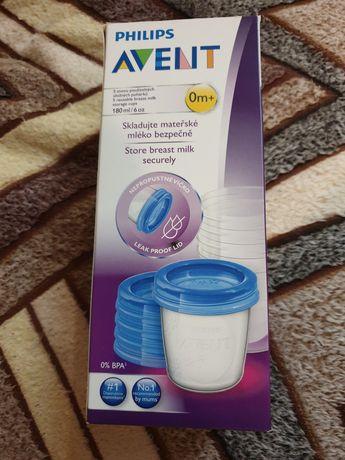 Контейнеры для хранения грудного молока Philips Avent