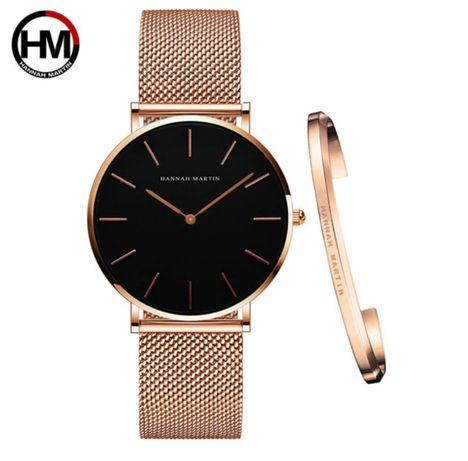 Klasyczny Zegarek Damski Hannah Martin *GRATIS bransoletka*