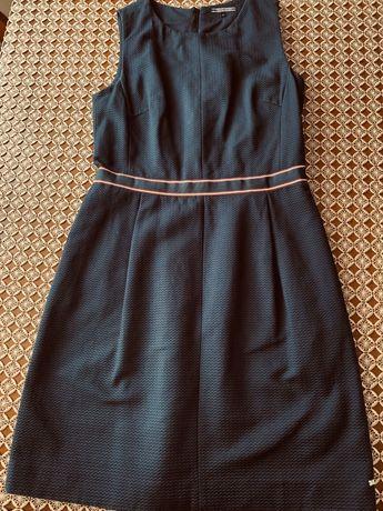 Sukienka granatowa Tommy HILFIGER - 40 - elegancka