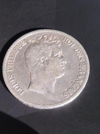 5 franków 1831 Louis Philippe l 25 gram srebra pr 900