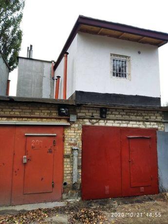 Продам гараж Киев Святошино ГСК Кронштадт двухэтажный м.Академгородок